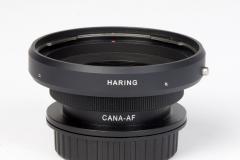 Адаптер Hasselblad на Canon.